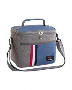 Orchid Insulated Lunch Bag Blue
