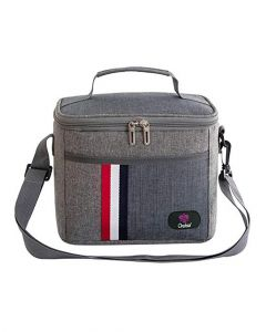Orchid Insulated Lunch Bag Grey