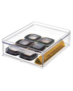 The Home Edit All Purpose Large Drawer Deep 7 x 5.25 x 2 inch Clear