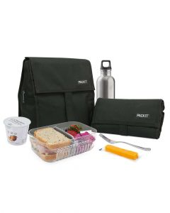 Packit Freezable Lunch Bag Black