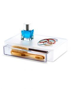 Madesmart Stacking Drawer Clear