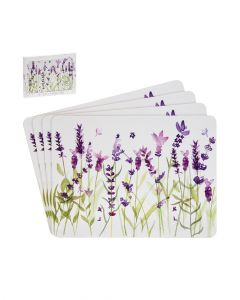 The Leonardo Collection Placemats Set Of 4 Lavender