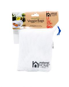 Natural Home Reusable Veggie Bags Piece Pack
