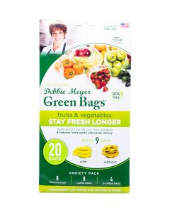 Debbie Meyer Green Bags 20 Piece Pack