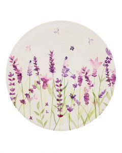 Lesser & Pavey Lavender Bamboo Plate