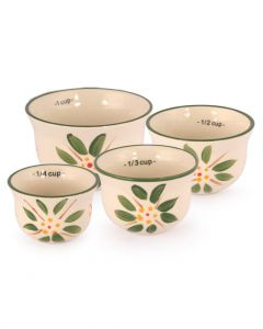 Temp-Tations Old World Measuring Cups Green
