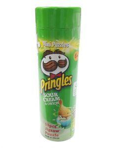 YWOW Games Mini Puzzles Pringles Sour Cream & Onion 50 Piece Jigsaw Puzzle