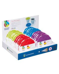 Colourworks Brights Silicone Drink Covers Assorted 1 Piece