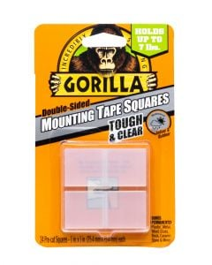 Gorilla Clear Mounting Tape Square