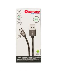 Oshtraco Type-C Charge & Data Sync Cable 3 Meter OTC USB
