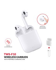 Trands Wireless Earbuds With Charging Case TWSF10