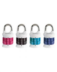 Master Lock Set Your Own Word Combination Padlock Assorted 1535Dwd