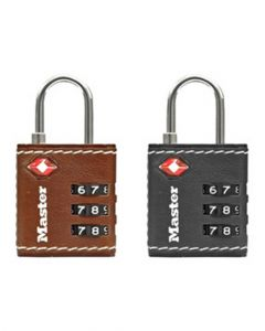 Master Lock Set Your Own Combination TSA Luggage Lock Assorted 4692D