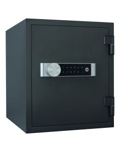 Yale Extra Large Safe 60 Minute Fire Resistance Lock Down Facility 37L Black