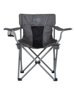 Bo-Camp Deluxe Classic Collapsible Folding Chair With Armrests