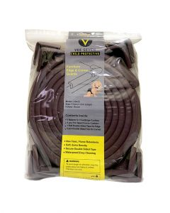 Vee Seven Edge Guard Large with 8 Corner Brown Large