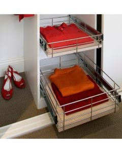 Tansel Wardrobe Pull Out Drawers Height 150mm Collection